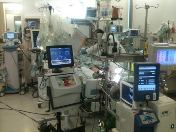Interoperability in a hospital today