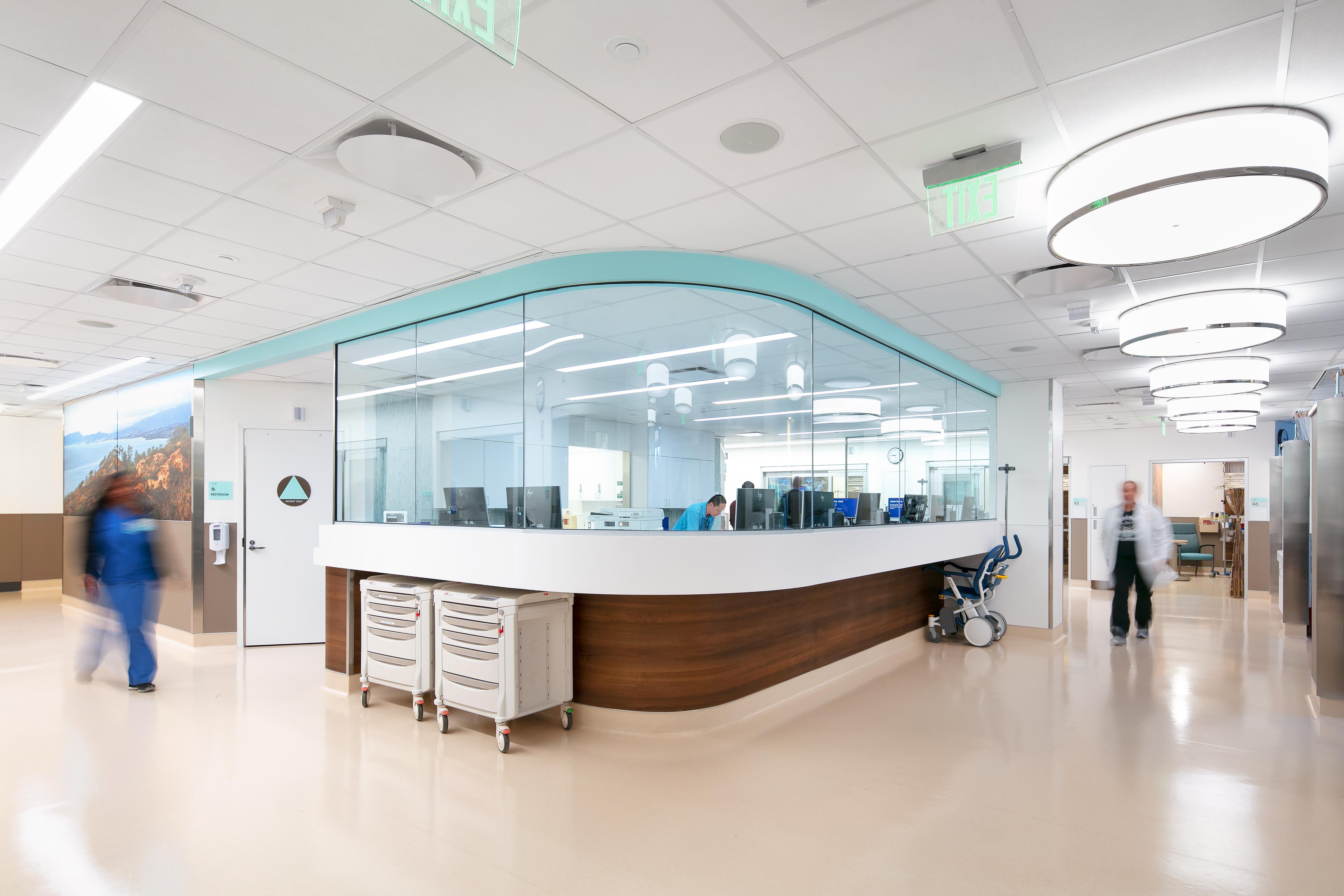 nursing station hallway