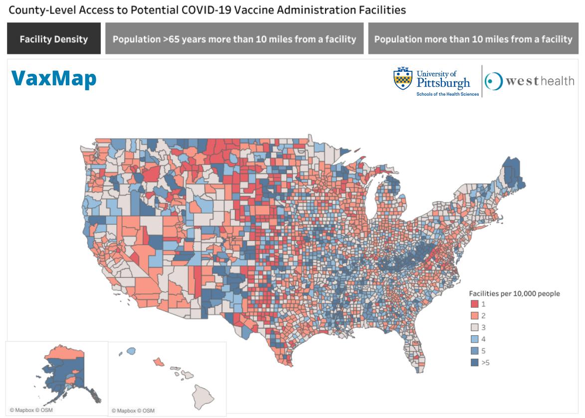 COVID-19 Potential Vaccine Locations
